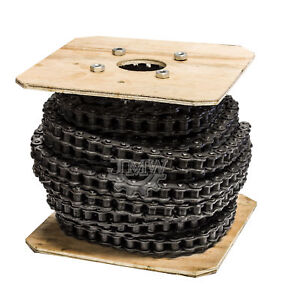 50 Roller Chain 100 Feet With 10 Connecting Links
