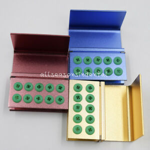 10 16 Holes Dental Fg Bur Burs Disinfection Autoclave Holder Block Blocks Case