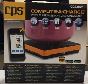 Cps Compute a charge Wireless Scale Cc220w