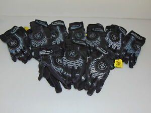Firm Grip 10 pack Firm Grip Large Synthetic Work Gloves High Dex contractor