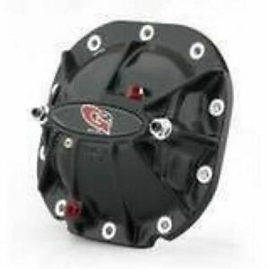G2 Ford 8 8in Aluminum Differential Cover Black W Load Bolts