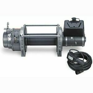 Warn 15 Dc 15 000lbs Industrial Series Winch 66032