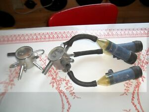 2 1960 s Boumatic Top Unloading Claws Cow Milking Equipment Dairy Farm Cows