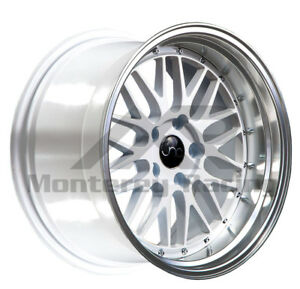 18x8 5x108 Jnc 005 White Machine Made For Ford Volvo