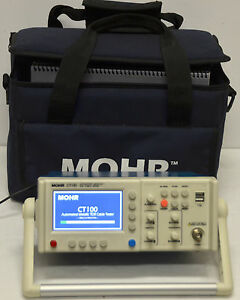 Mohr Ct 100 Automatic Metallic Tdr Cable Tester Ct100