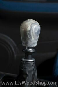 Ljs Wood Shop Custom Shift Knob M12x1 25 Ivory Resin Hybrid