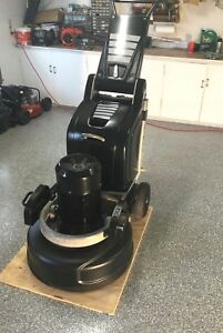 Htc 800hdx Concrete Floor Grinder Polisher