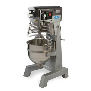 General Gem130 Commercial 30 Qt Planetary Stand Mixer W Timer 2 Hp 12 Hub