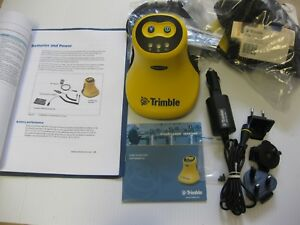 Trimble Bluetooth Geobeacon Gps gis Survey Receiver 54970 00 Cd Software