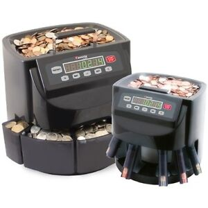 Coin Sorter And Wrapper Machine Digital Money Counter Bank Automatic Commercial