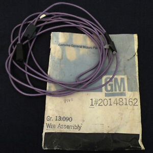 Nos 1980 1981 Chevrolet Caprice Electric Defogger Wire Harness Gm 20148162