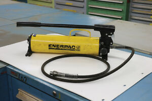 Used Enerpac P80 Hydraulic Hand Pump new Style