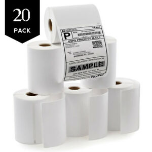 20 Rolls 220 roll Direct Thermal Shipping Labels 4x6 4xl Dymo 1744907 Compatible