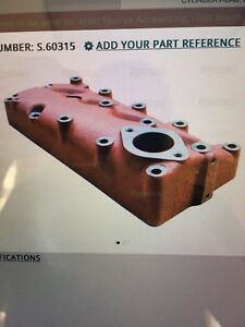 Farmall Ihc Cub And Lowboy 154 184 185 Head For C60 Engine New
