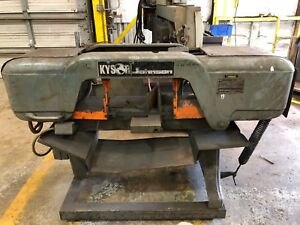 Kysor johnson Model J H24400 Horizontal Band Saw