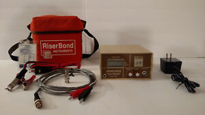 Riserbond Digital Time Domain Reflectometer Model 2901b Powers Up