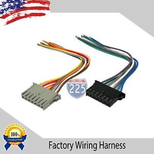 Car Stereo Wiring Harness Factory Radio Male Plug Chrysler Dodge Jeep 1984 2002