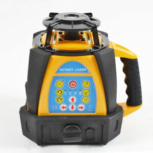 500m Range Hq High Accuracy Self leveling Rotary Rotating Laser Level New