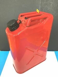 Vintage Usmc 5 89 Blitz Red 5 Gallon Jerry Gas Can Unused Condition