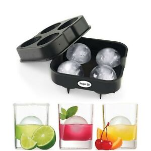 Ice Balls Maker Round Sphere Tray Mold Cube Whiskey Ball Cocktails Silicone.