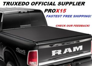 Truxedo Pro X15 Roll Up Tonneau Truck Bed Cover 2019 Dodge Ram 1500 6 4 Ft Bed
