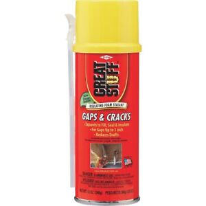 case Of 12 Great Stuff 12 Oz Gaps Cracks Insulating Foam Sealant