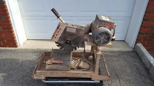 Local P u Only Nj Edco 14 Masonry Wet Saw Model Ms14p2 Electric 220 110 Volts