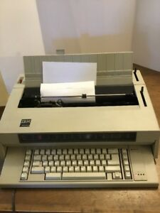 Ibm Wheelwriter 3 Electronic Typewriter For Parts Or Repair