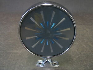 Vintage Low Rider Starburst Reflective Sunburst Tinted Mirror Hot Rat Rod