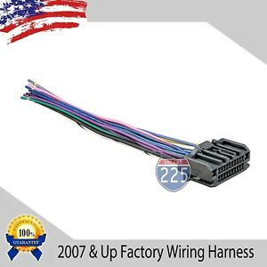 Car Stereo Wiring Harness Factory Radio Male Plug Chrysler Dodge Jeep 2007