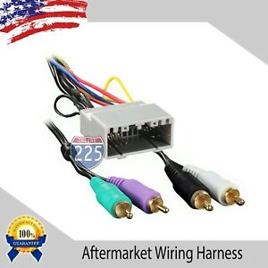 Car Stereo Wiring Harness Amp Aftermarket Radio Chrysler Dodge Jeep 2002 2007