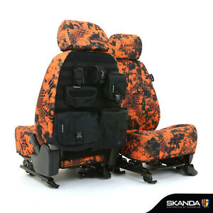 Skanda Kryptek Inferno Camo Neosupreme Tactical Seat Covers For Nissan Titan Xd