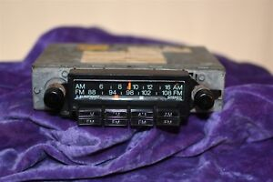 Blaupunkt Am Fm Radio With Presets Old I Think For Vw 7636421012