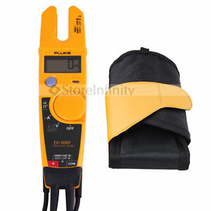 Fluke T5 1000 Holster Voltage Continuity Current Electrical Tester