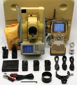 Topcon Is 03 3 Robotic Imaging Total Station W Fc 2500 Controller Is 03 Is03