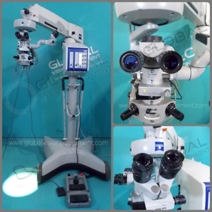 Carl Zeiss Opmi Visu 150 s8 Surgical Microscope With Oculus Sdi 4e Inverter