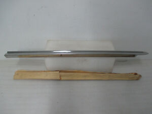 Mopar Nos 1960 Chrysler New Yorker Right Hand Lower Tail Panel Molding 2196657