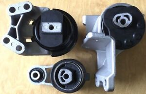 3pc Engine Transmission Mount For 2009 2012 Ford Flex 3 5l No Turbo Fast Ship