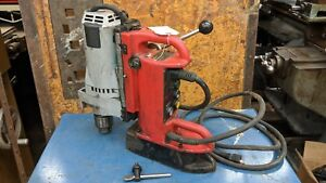 Milwaukee 4202 Electromagnetic Variable Speed Magnetic Drill Press 4262 1 Motor2