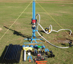New Made In Usa Lone Star Ls100 6 X 100 Portable Water Well Drill Rig