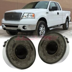 For 06 10 Ford F 150 Oe Factory Fit Halo Fog Light Bumper Wiring Kit Smoke Lens
