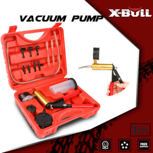Xbull Hand held Vacuum Pressure Pump Tester Kit Brake Fluid Bleeder