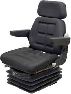 Deluxe Air Seat And Suspension Fits John Deere 6000 7000 Series