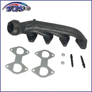 Exhaust Manifold Gasket Kit Passenger Side Right Rh For Ford Truck 5 4l