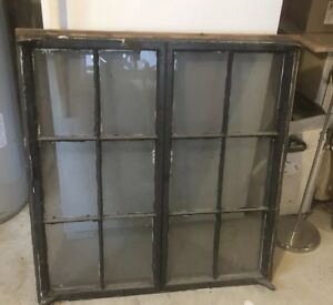 Old Metal Case Window Frame Circia 1938 To 1941