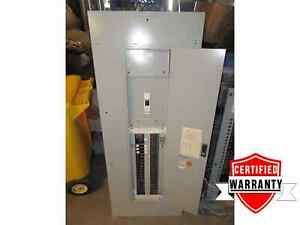 Panel Board Main Breaker Box 42 Cir 120 208 Volt 3 P 4 W 200 Amps 1 Year Warrant