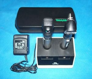 Welch Allyn Rechargeable Pocketscope Otoscope Ophthalmoscope Diagnostic Set