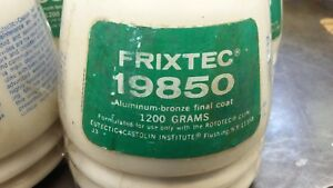 Eutectic Castolin 19850 Frixtec Metal Spray Powder 1200 Gram Container