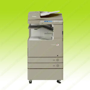 Canon Imagerunner Advance C2020 Color Tabloid Printer Copier Color Scanner 130k