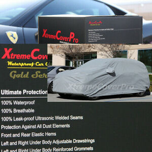 1995 1996 1997 Toyota Land Cruiser Waterproof Car Cover W mirrorpocket Gray